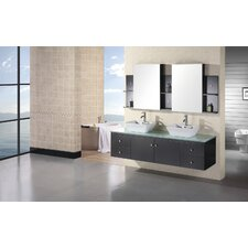 "Portland 72"" Double Sink Vanity Set"