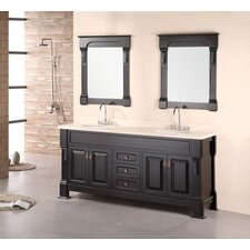 "Hanford 72"" Double Sink Vanity Set"