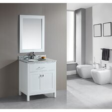 "<strong>Design Element</strong> London 30"" Single Sink Vanity Set"