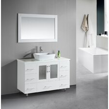 "<strong>Design Element</strong> Milan Stanton 48"" Modern Vanity Set"