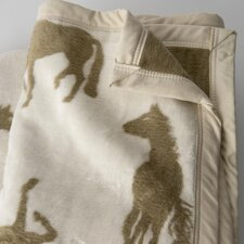 Crazy Horse Cotton / Acrylic Throw