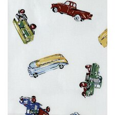<strong>Traditions Linens</strong> Car Shop Shower Curtain