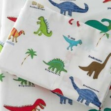<strong>Traditions Linens</strong> Dino-Roar Sheet Set