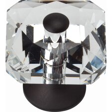 "Boutique Crystal 1.5"" Vintage Large Crystal Knob"