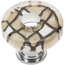 "Glass 1.5"" Viceroy Round Knob"
