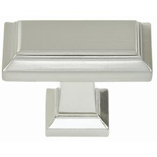 "<strong>Atlas Homewares</strong> Sutton Place 1"" Rectangle Knob"