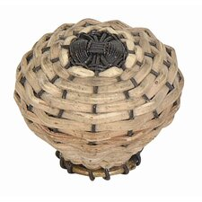 "Hamptons Bamboo Weaved 1.5"" Round Knob"