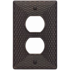 """4.87"""" Mandalay Outlet Plate"""