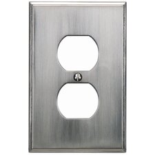 "4.87"" Sutton Place Outlet Plate"