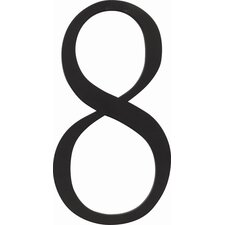 "6"" The Traditionalist House Numbers"