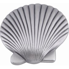 "Sea Clamshell 2"" Novelty Knob"