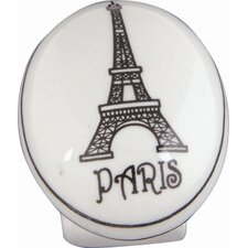 "Travel Paris 1.5"" Round Knob"