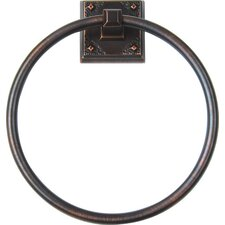 American Arts and Crafts Towel Ring
