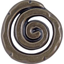 "Scroll 1.5"" Round Knob"