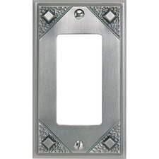 "Craftsman 1 Rocker 4.5"" Wall Plate"