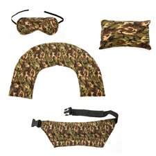 Aromatherapy 4 Piece Camouflage Complete Herbal Pack Set