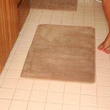 Microfiber Absorbing Memory Foam Bath Mat