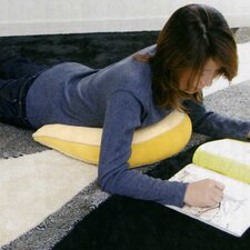 <strong>Deluxe Comfort</strong> Memory Foam Tilted Cushion in Yellow