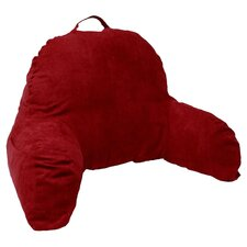 Microsuede Reading Bed Rest Pillow