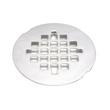 "2.87"" Grid Shower Drain"