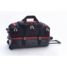 "Molded 21"" 2-Wheeled Carry-On Duffel"