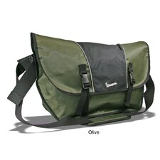 Two-Toned Bike Laptop Messenger Bag