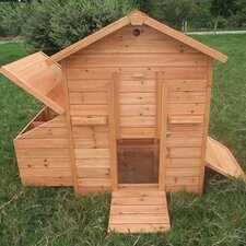 Small Pawhut Chicken House with Nesting Box