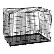 2 Door Folding Pet Crate
