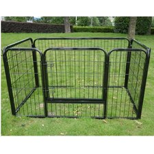 "28"" 4 Panel Heavy Duty Pet Pen"