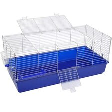 "Pawhut 47"" Portable Wire Animal Hutch House"