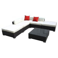 Outsunny 6 Piece Seating Group with Cushion