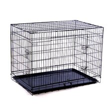 Double Door Wire Dog Crate