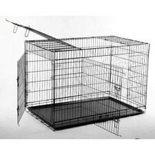 Big Triple Door Wire Dog Crate
