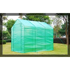 Outsunny Portable 6 Ft. W x 8 Ft. D Greenhouse