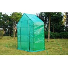 "Outsunny 2' 6""W x 4' 8"" D Mini Greenhouse"