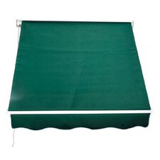 Outsunny 0.5ft. H x 4ft. W x 4ft. D Awning