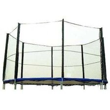Trampoline Safety Enclosure and Net System