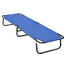 Outsunny Deluxe Folding Camping Cot