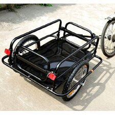 <strong>Aosom LLC</strong> Wanderer Cargo / Luggage Bike Trailer