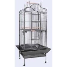 Large Scallop Play Top Bird Cage