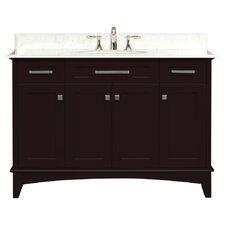 "Manhattan 48"" Single Standard Bathroom Vanity Set"