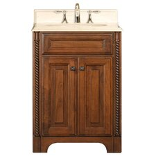 "Spain 24"" Single Standard Bathroom Vanity Set"