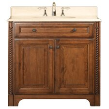 "Spain 36"" Single Standard Bathroom Vanity Set"
