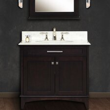 "Manhattan 36"" Single Sink Vanity Set"