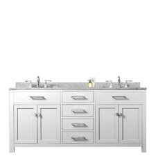 "Madison 60"" Double Sink Bathroom Vanity Set"
