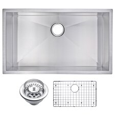 "32"" X 19"" Single Bowl Kitchen Sink"