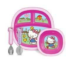 Hello Kitty® 4 Piece Dining Set