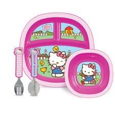 Hello Kitty® 4 Piece Dining Set