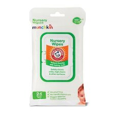 24 Pack Arm and Hammer Nursery Wipes