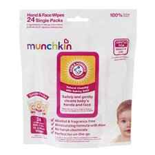 <strong>Munchkin</strong> Arm and Hammer Hand and Face Wipes